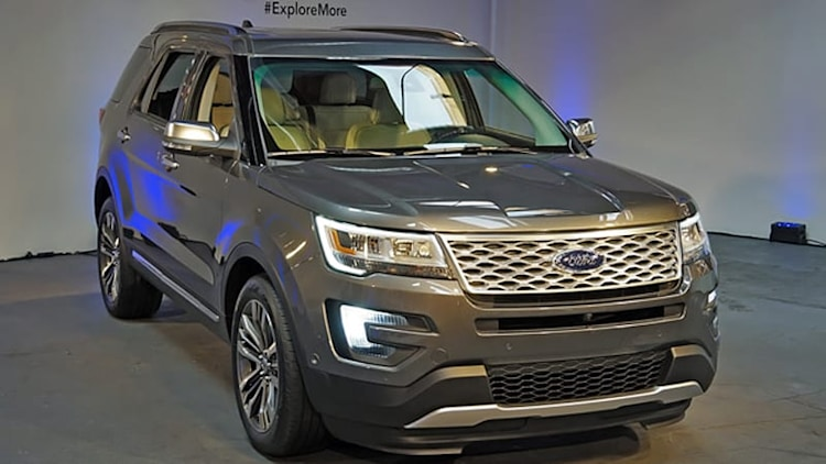 2016 Ford Explorer revealed with new 2.3-liter EcoBoost