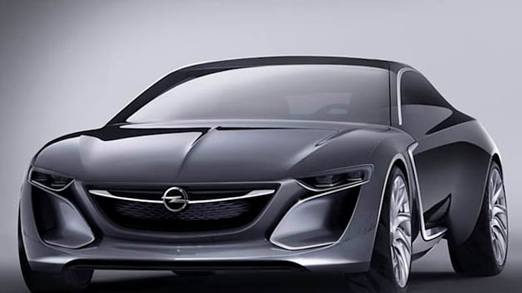 Next Buick Regal to inherit styling cues from Opel Monza concept