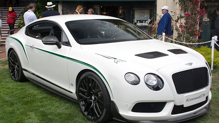 Bentley Continental GT3-R is a limited-edition racer for the street
