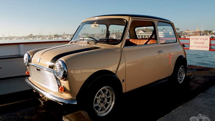 The original Mini Cooper still has universal appeal