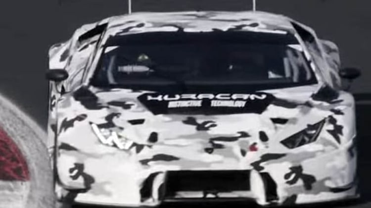 Lamborghini teases new Huracan GT3