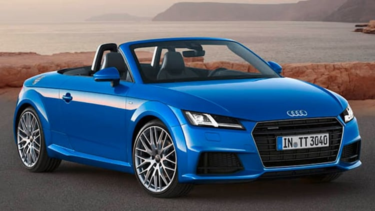 Audi bringing new TT Roadster to Paris