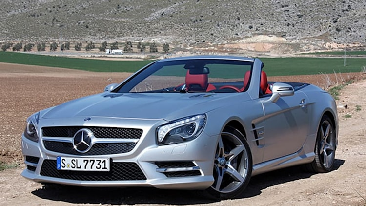 Next Mercedes SL due in 2019, will share platform with SLK
