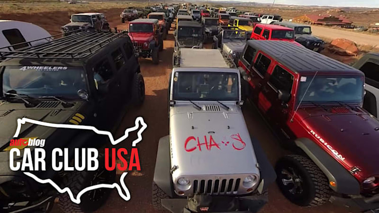 Car Club USA: Moab Jeep Jamboree