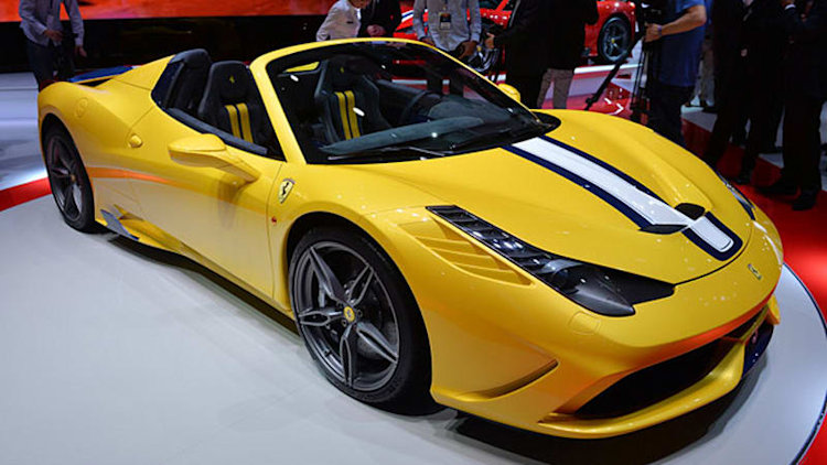 Ferrari 458 Speciale A trots out its 597 sun-drenched ponies [w/video]