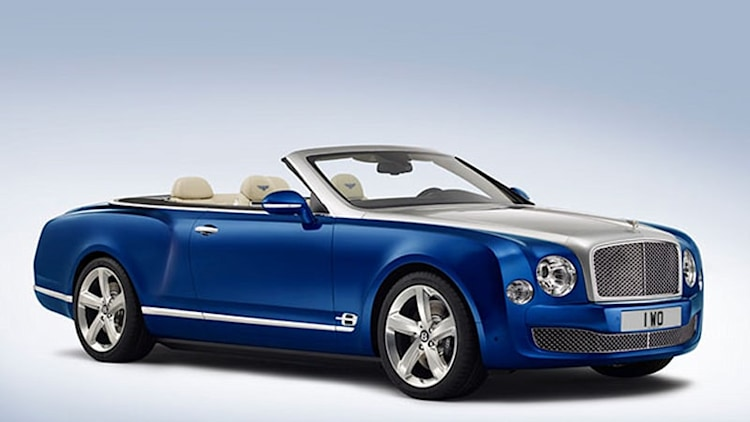 Bentley unveils the Grand Convertible, a droptop Mulsanne Speed