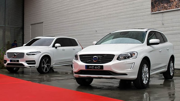 Volvo aligning model range into three families