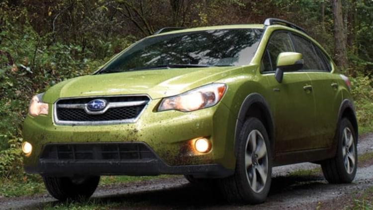 Subaru prices 2015 XV Crosstrek from $21,595*