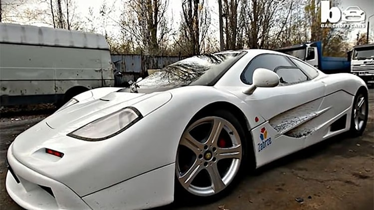 This McLaren F1 replica was built from scrap by a Top Gear fanatic
