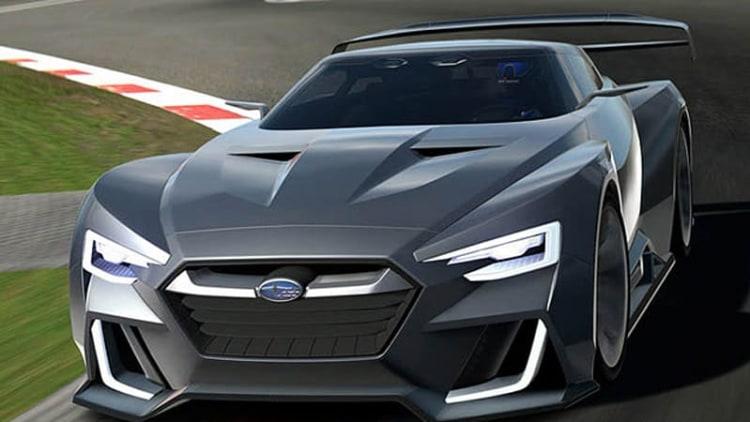 Subaru Viziv GT gears up for Vision Gran Turismo action [w/video]