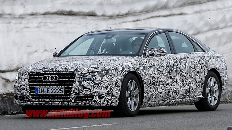 Next Audi A8 to drive itself up to 37 mph
