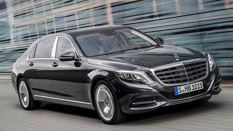 Maybach Pullman, S550 4Matic coming next