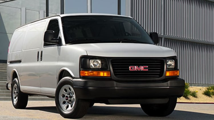 GM natural gas-powered vans recalled due to possible leak