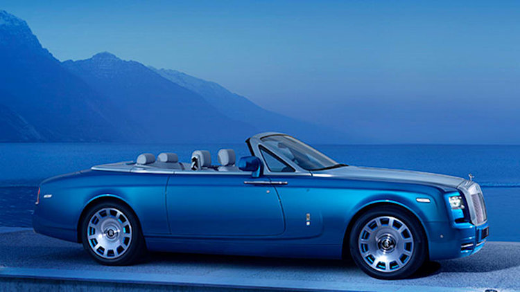 Rolls-Royce debuts Phantom Drophead Coupe Waterspeed Collection