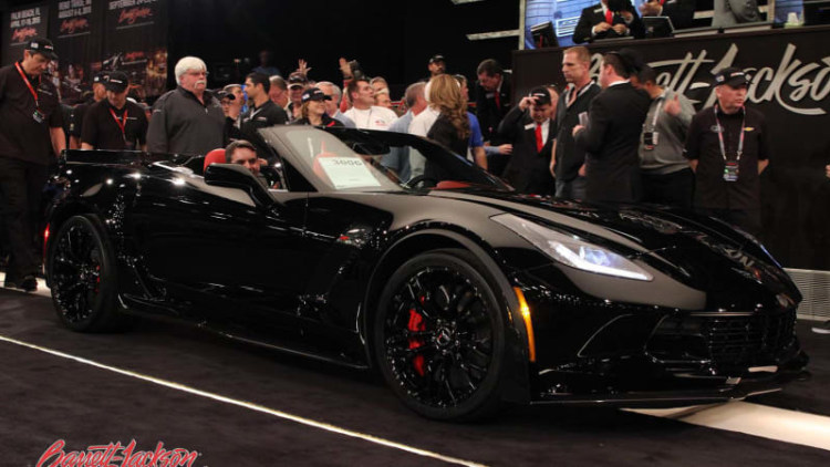 First-edition Detroit muscle raises millions for charity at Barrett-Jackson