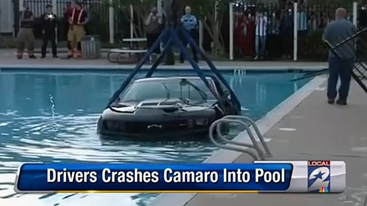 Texan tries out new Camaro ZL1 Underwater Edition [w/video]