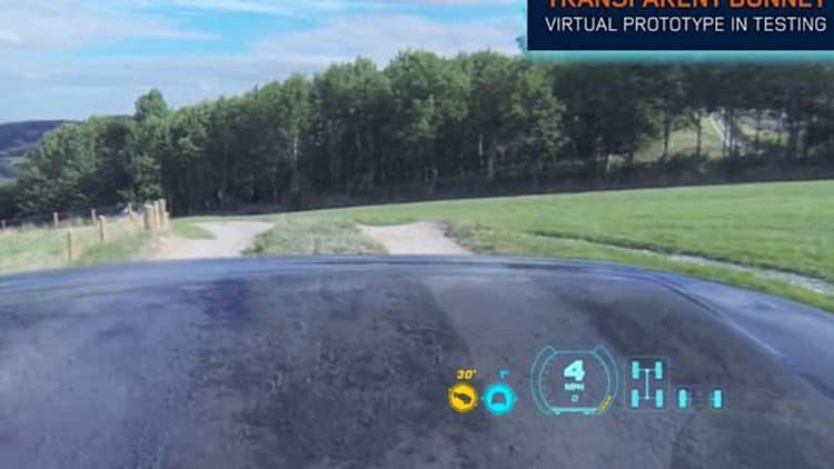 Land Rover augments off-road reality with amazing Transparent Bonnet tech