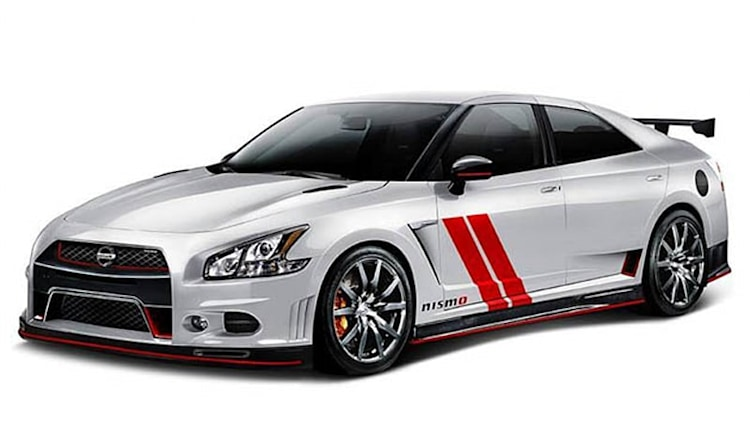 Nismo mashes it up with Sentra 370Z and Maxima GT-R [UPDATE]