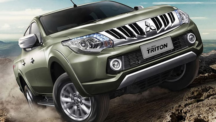 Mitsubishi rolls out new Triton pickup [w/videos]