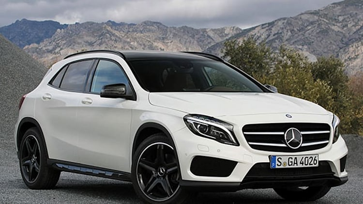 2015 Mercedes-Benz GLA priced from $31,300*
