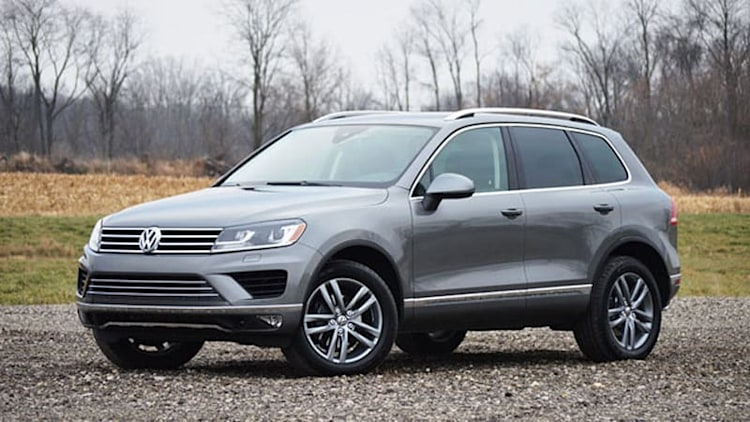 2015 Volkswagen Touareg [w/video]