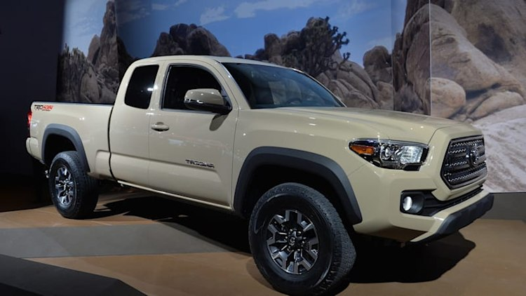 2016 Toyota Tacoma fears no canyon in Detroit