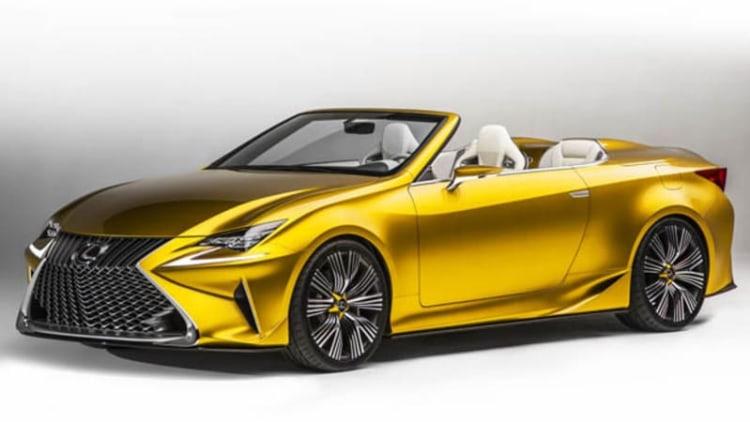 Lexus still weighing convertible prospects [w/poll]