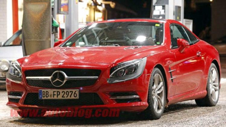 Mercedes giving SL a nose job