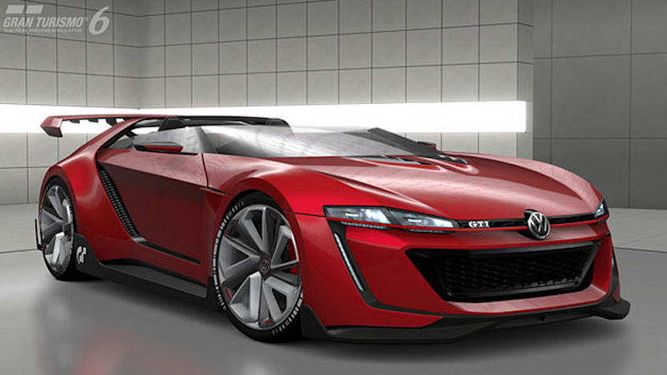VW GTI Roadster Vision Gran Turismo hits the small screen [w/video]