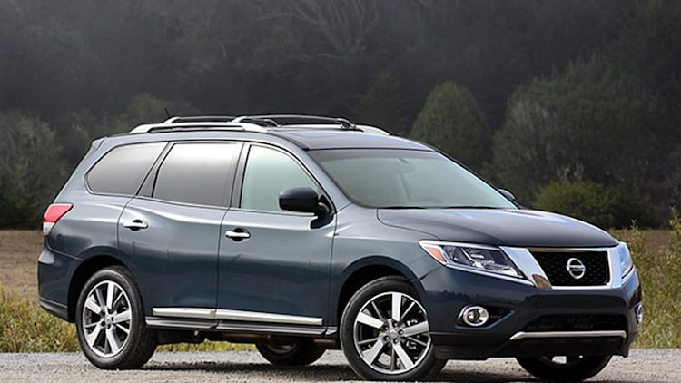 Nissan recalls 3,065 Pathfinders for transmission fluid leak