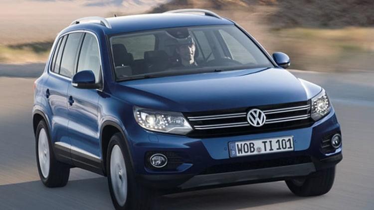 Volkswagen recalls 150,000 Tiguans for fuel bubbles