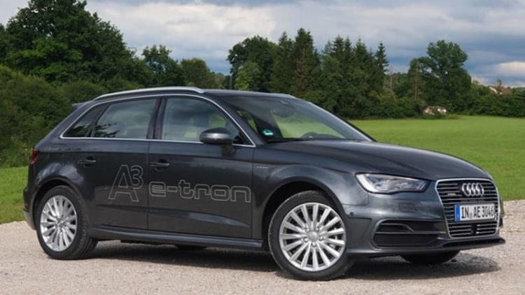 2015 Audi A3 E-Tron [w/video]