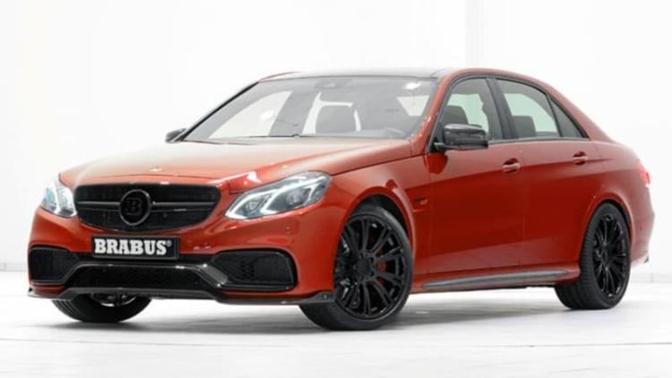 Brabus tunes Mercedes E63 to 850 horsepower