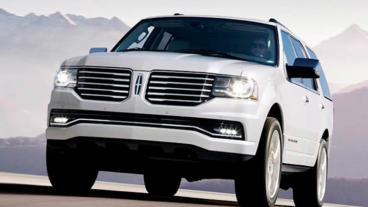Lincoln Navigator facelift only has to last until 2016 replacement