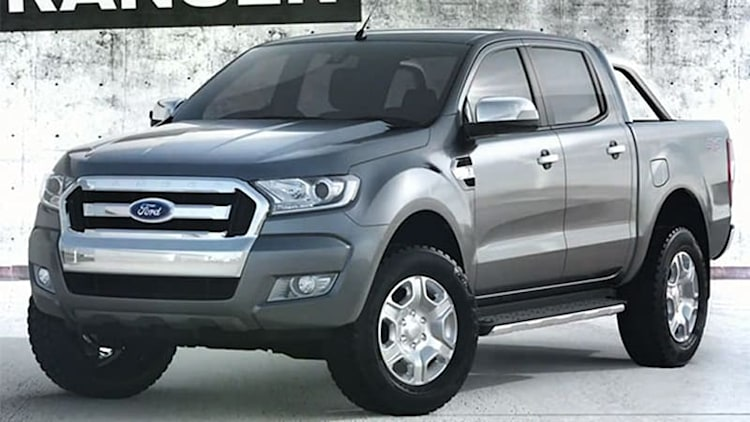 Here's the new face of the Ford Ranger