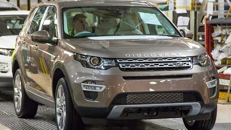 First new Land Rover Discovery Sport rolls off assembly line