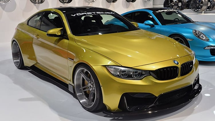 Vorsteiner BMW M4 GTRS4 shows how to do a widebody at SEMA