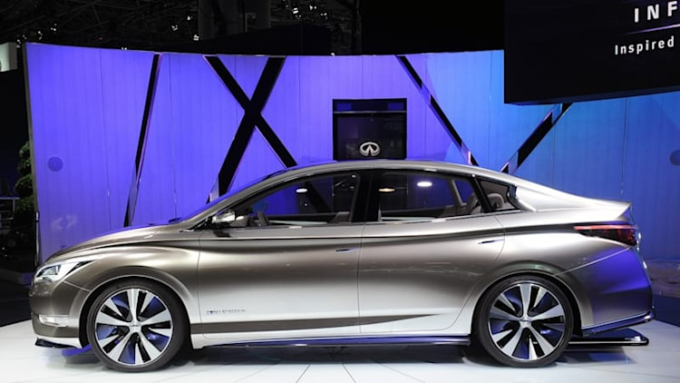 Infiniti puts EV plans on hold again