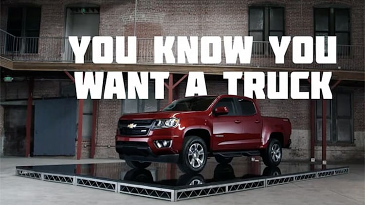 Chevy explains why everybody wants a truck