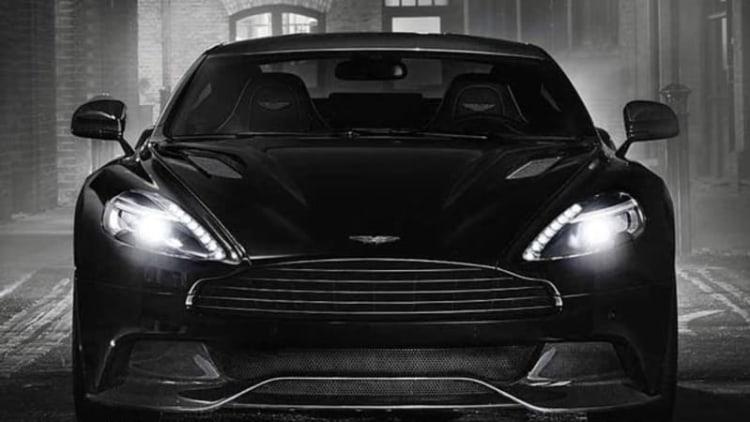 Aston Martin blacks out new Vanquish Carbon Edition [w/video]