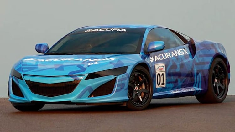 Acura NSX bodywork to be sheathed in zirconium e-coat, fewer paint layers