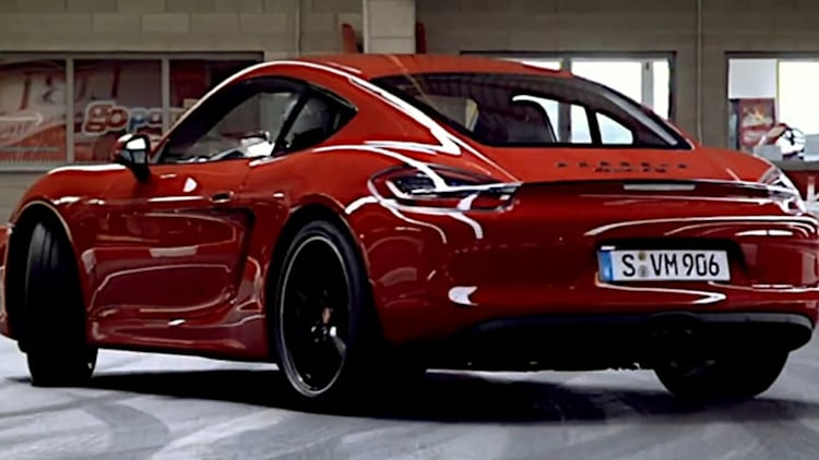 Porsche goes karting in its Cayman GTS