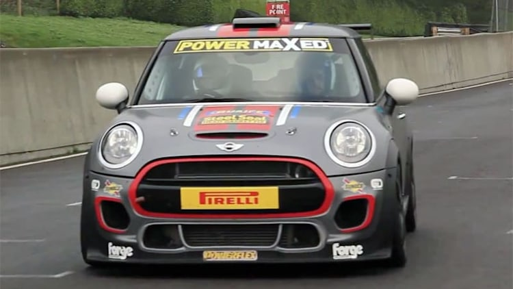 Xcar takes the Mini Challenge, and it sounds awesome