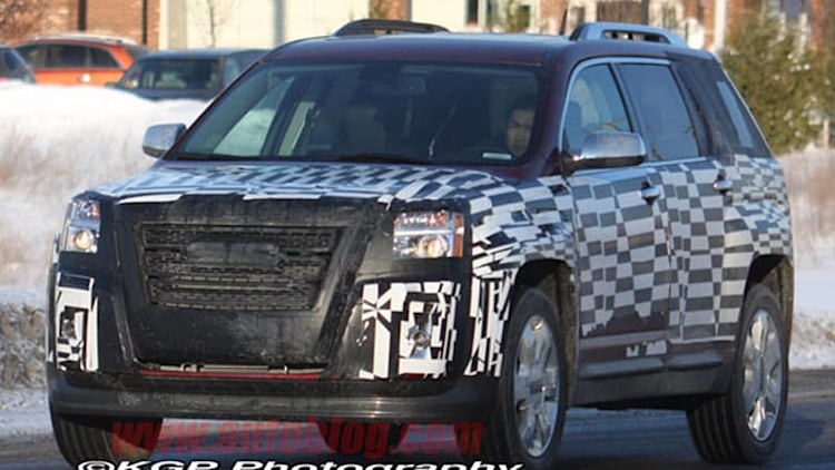 Spy Shots: GMC Terrain spotted looking all but production-ready