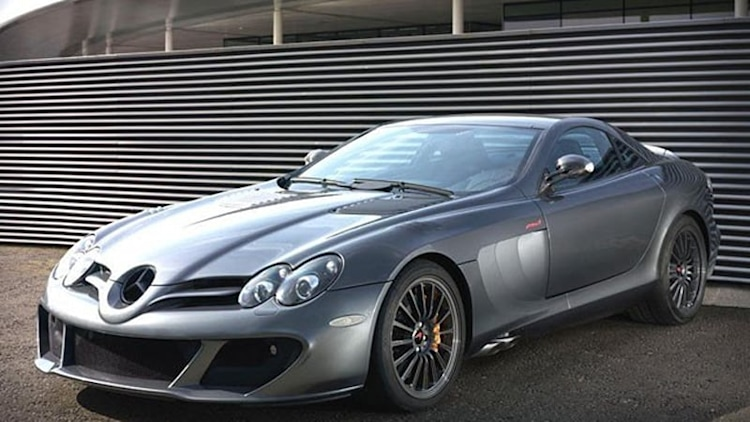 McLaren brings back the SLR for a limited-edition swan song