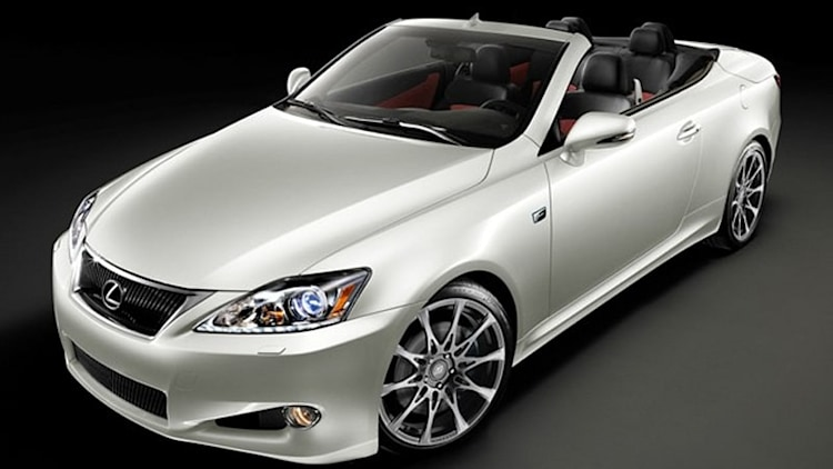 2011 Lexus IS 350C F Sport Special Edition limited to 175 units, priced from $55,120*