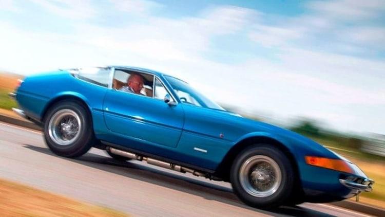 Ferrari Daytona of royal, <i>Top Gear</i> provenance up for auction at Brooklands