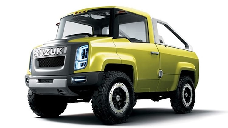 Suzuki considering (another) small pickup for U.S.