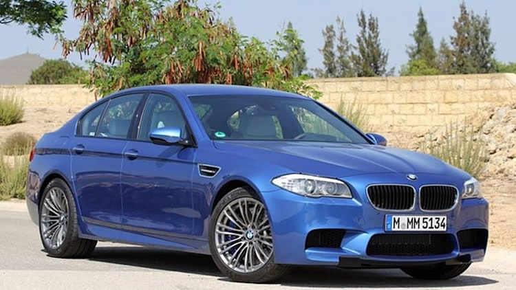BMW M5 quicker than 1 M Coupe quicker than M3