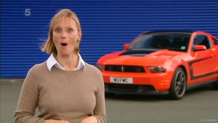 VBH thrashes Ford Mustang Boss 302 at Le Mans for <i>Fifth Gear</i>